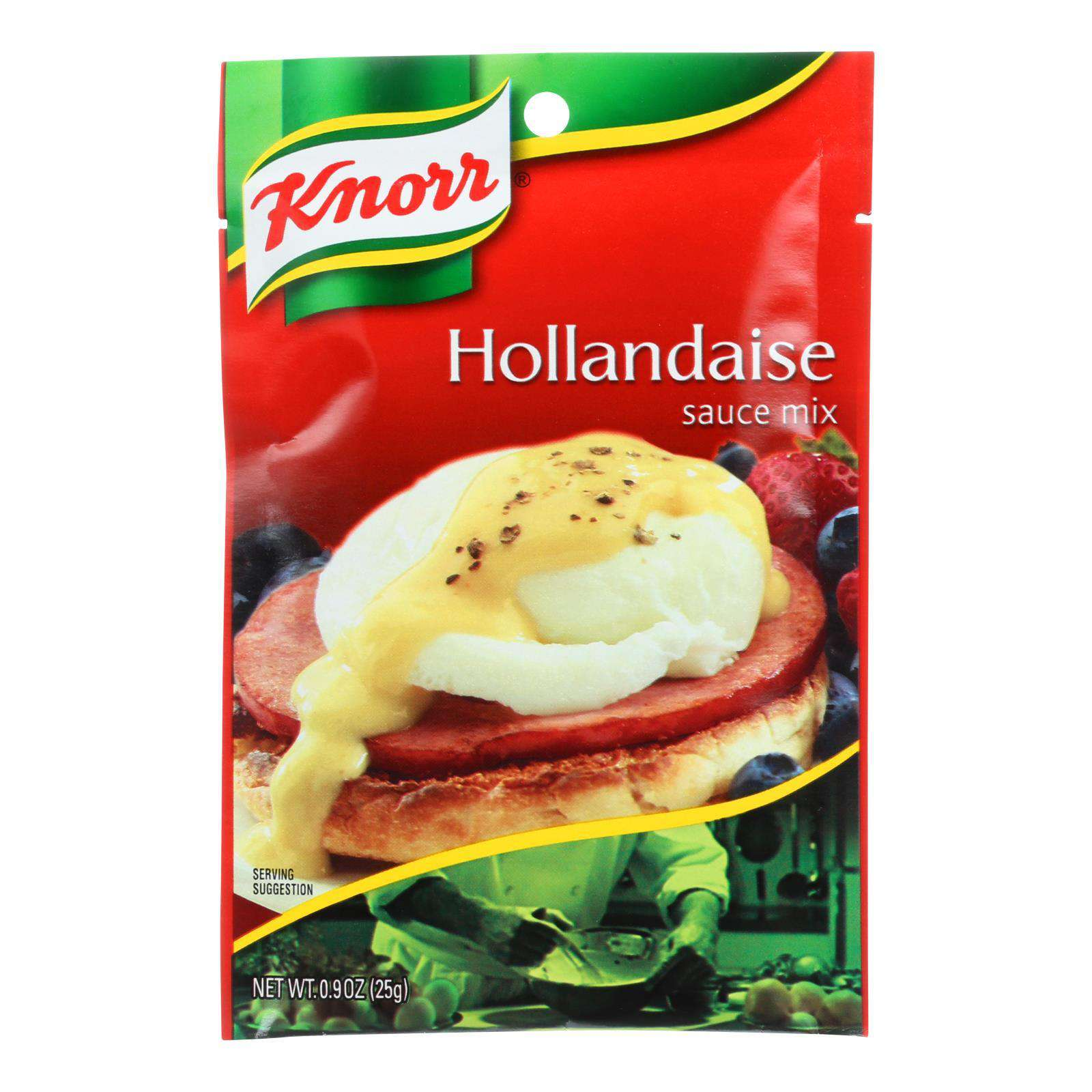 Knorr Sauce Mix - Hollandaise - .9 Oz - Case Of 12 - BeeGreen