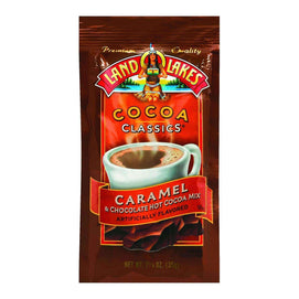 Land O Lakes Cocoa Classic Mix - Caramel And Chocolate - 1.25 Oz - Case Of 12 - BeeGreen