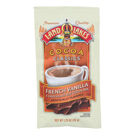 Land O Lakes Cocoa Classic Mix - French Vanilla And Chocolate - 1.25 Oz - Case Of 12 - BeeGreen