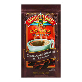 Land O Lakes Cocoa Classic Mix - Hot Cocoa - 1.25 Oz - Case Of 12 - BeeGreen