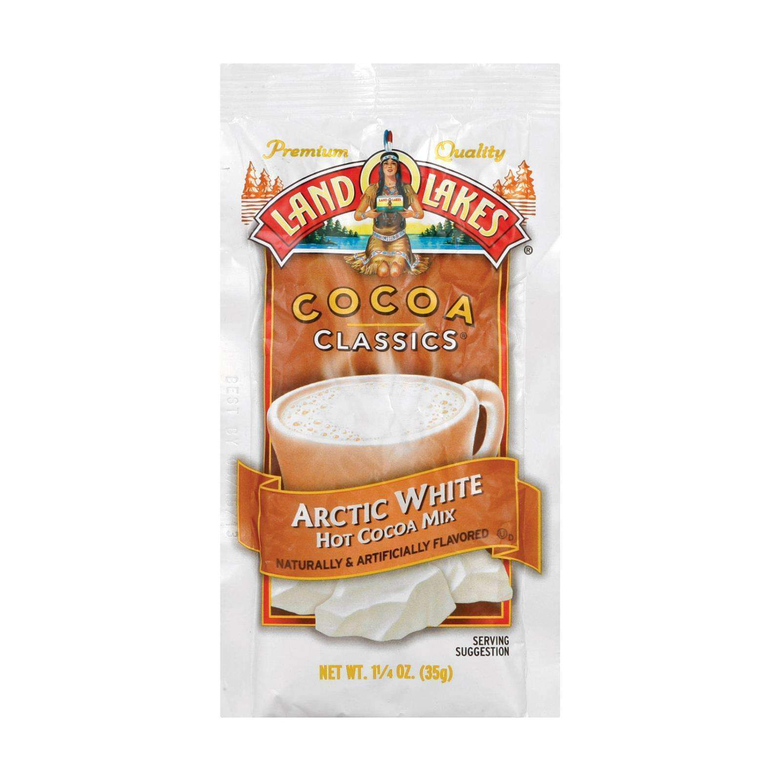 Land O Lakes Cocoa Classics - Artic White - Case Of 12 - 1.25 Oz. - BeeGreen