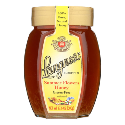 Langnese Honey Summer Flowers - Case Of 10 - 17.6 Oz. - BeeGreen