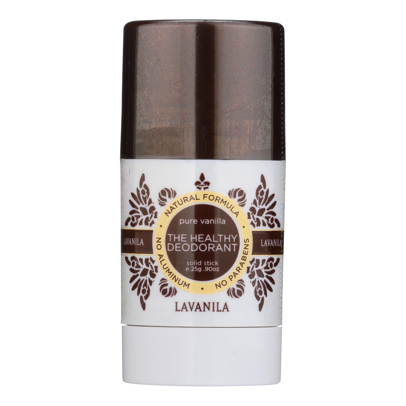 Lavanila Laboratories The Healthy Deodorant - Pure Vanilla Mini - 1 Each - 0.9 Oz. - BeeGreen