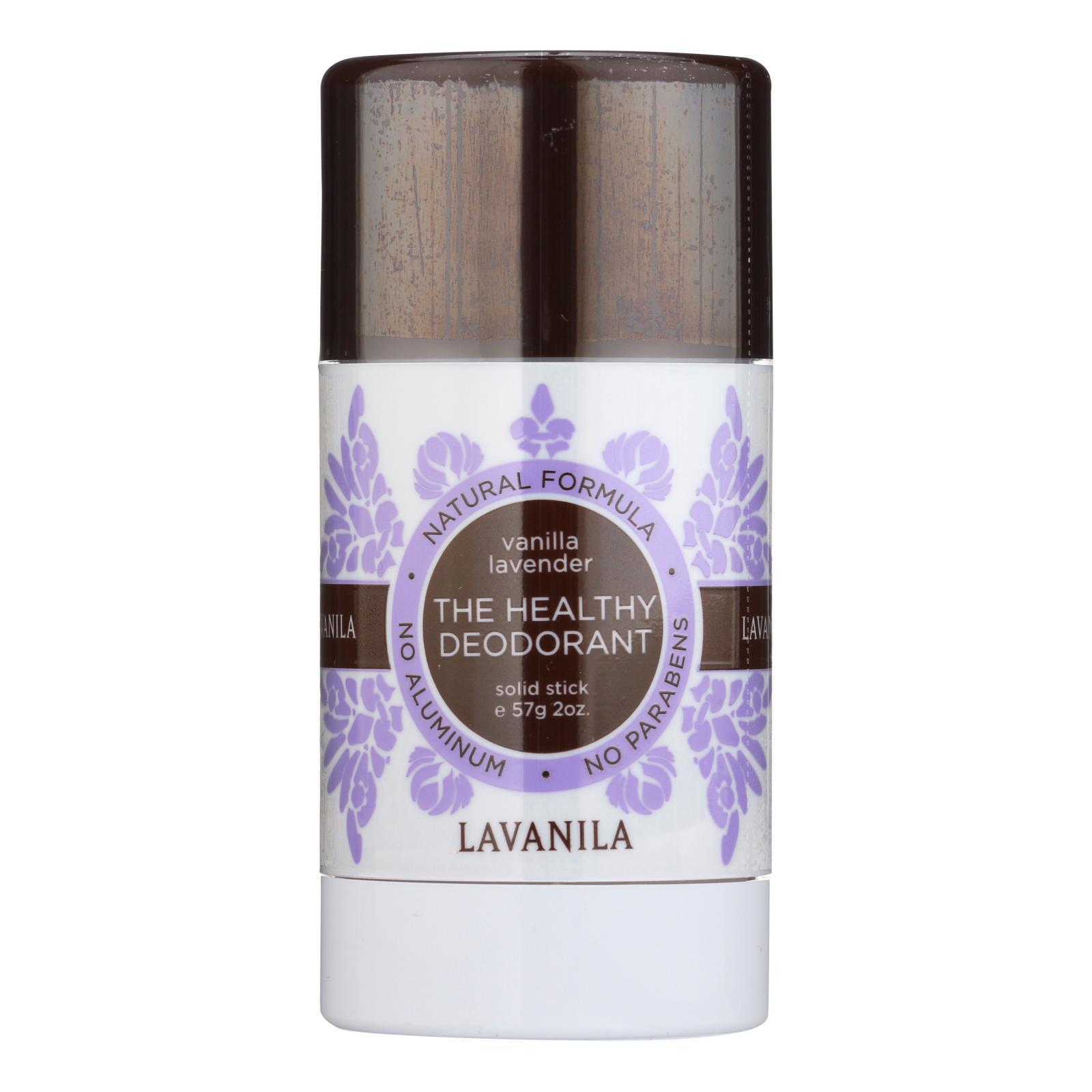 Lavanila Laboratories The Healthy Deodorant - Stick - Vanilla Lavender - 2 Oz - BeeGreen