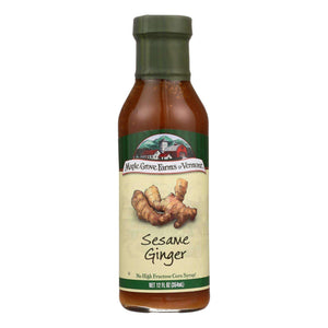 Maple Grove Farms - Salad Dressing - Sesame Ginger - Case Of 6 - 12 Fl Oz. - BeeGreen