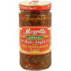 Mezzetta Express Deli-Style Zesty Bell Pepper Relish (6x12Oz) - BeeGreen