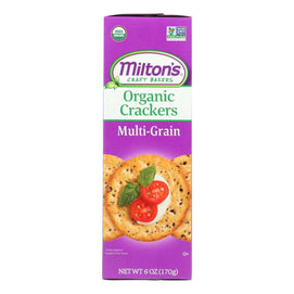 Miltons - Baked Crackers Mltgrn - Case Of 8 - 6 Oz - BeeGreen
