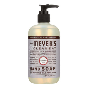 Mrs. Meyer's Clean Day - Liquid Hand Soap - Lavender - Case Of 6 - 12.5 Oz - BeeGreen