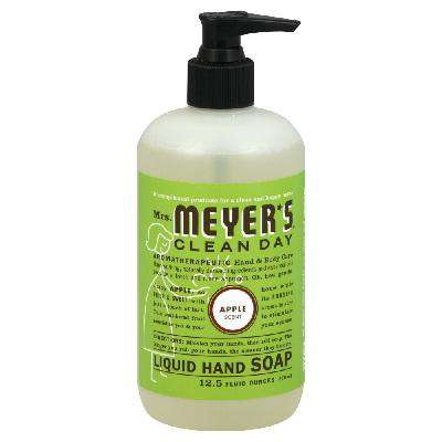Mrs Meyers Liquid Hand Soap Apple (6x12.5OZ ) - BeeGreen