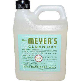 Mrs Meyers Liquid Hand Sp Refil Basl (6x33OZ ) - BeeGreen