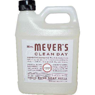 Mrs Meyers Liquid Hand Sp Refil Lavendar (6x33OZ ) - BeeGreen