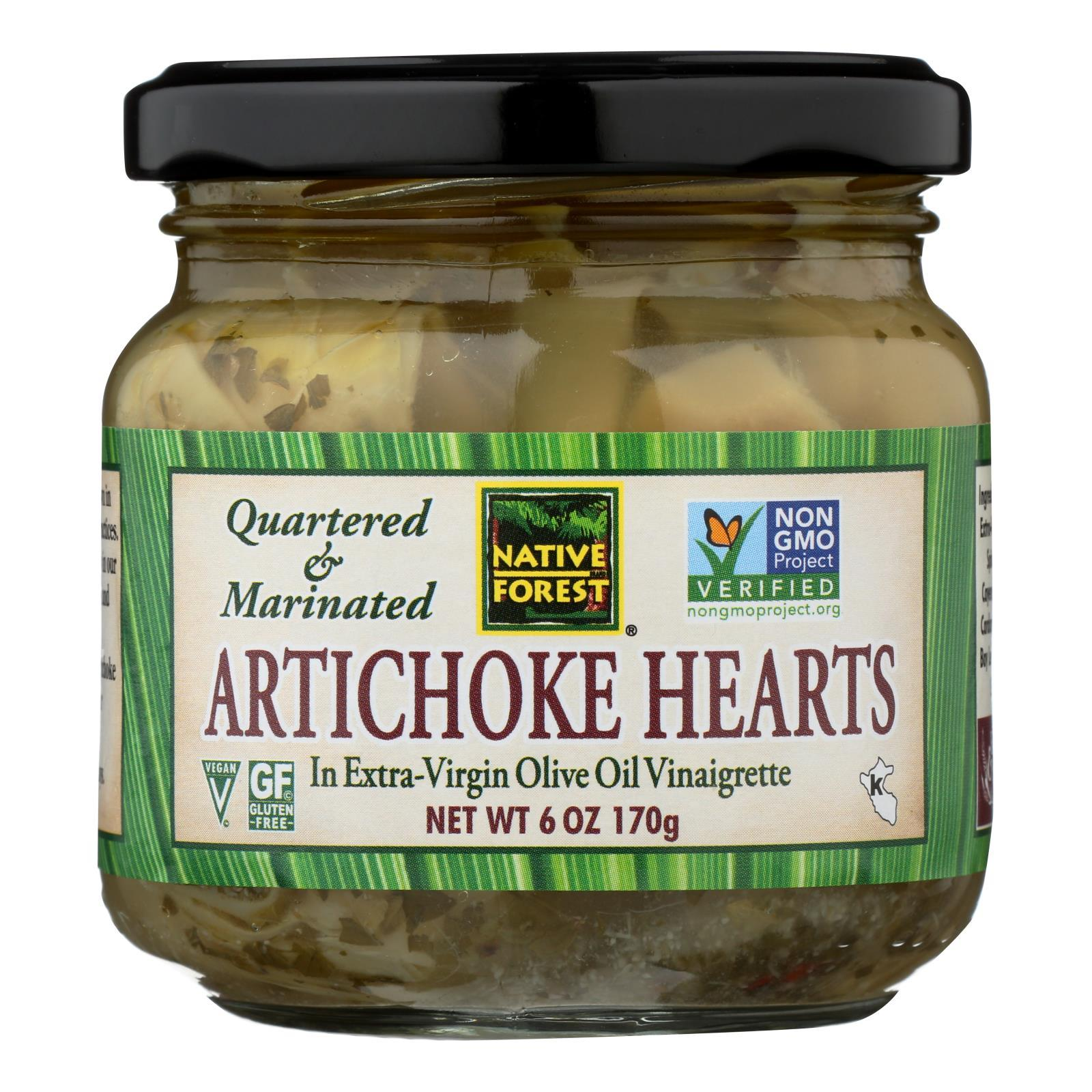 Native Forest Marinated Hearts - Artichoke - Case Of 6 - 6 Oz. - BeeGreen