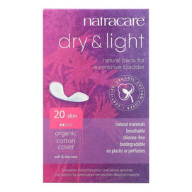 Natracare Dry And Light Individually Wrapped Pads - 20 Pack - BeeGreen
