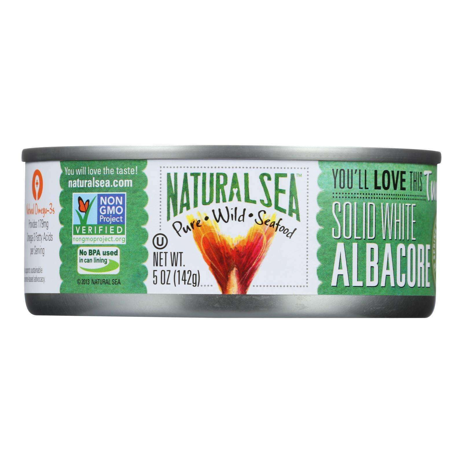 Natural Sea Wild Albacore Tuna - With Sea Salt - 5 Oz. - BeeGreen