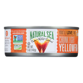 Natural Sea Wild Yellowfin Tuna - Unsalted - 5 Oz. - BeeGreen