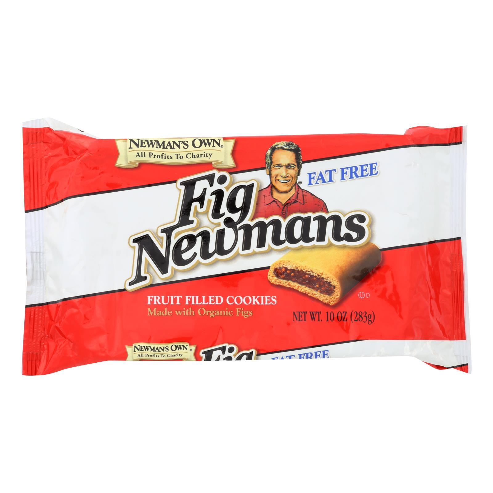 Newman's Own Organics Fig Newman's - Fat Free - Case Of 6 - 10 Oz. - BeeGreen