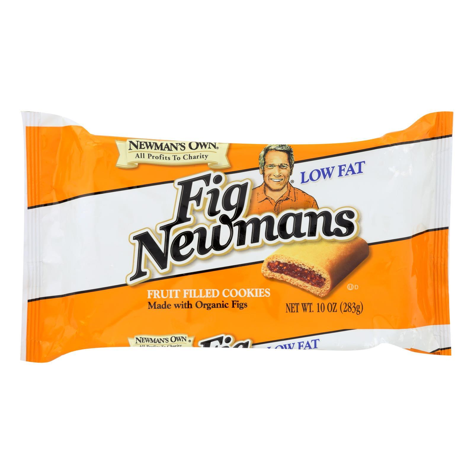 Newman's Own Organics Fig Newman's - Low Fat - Case Of 6 - 10 Oz. - BeeGreen