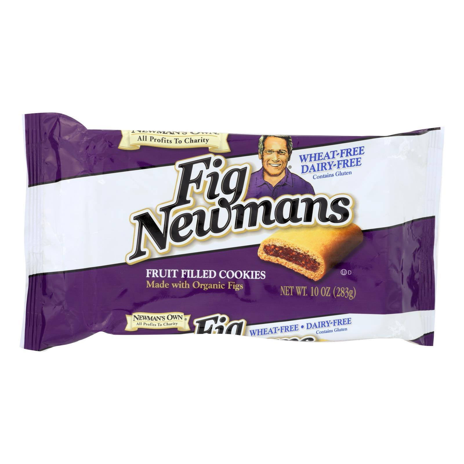 Newman's Own Organics Fig Newman's Wheat Free - Dairy Free - Case Of 6 - 10 Oz. - BeeGreen