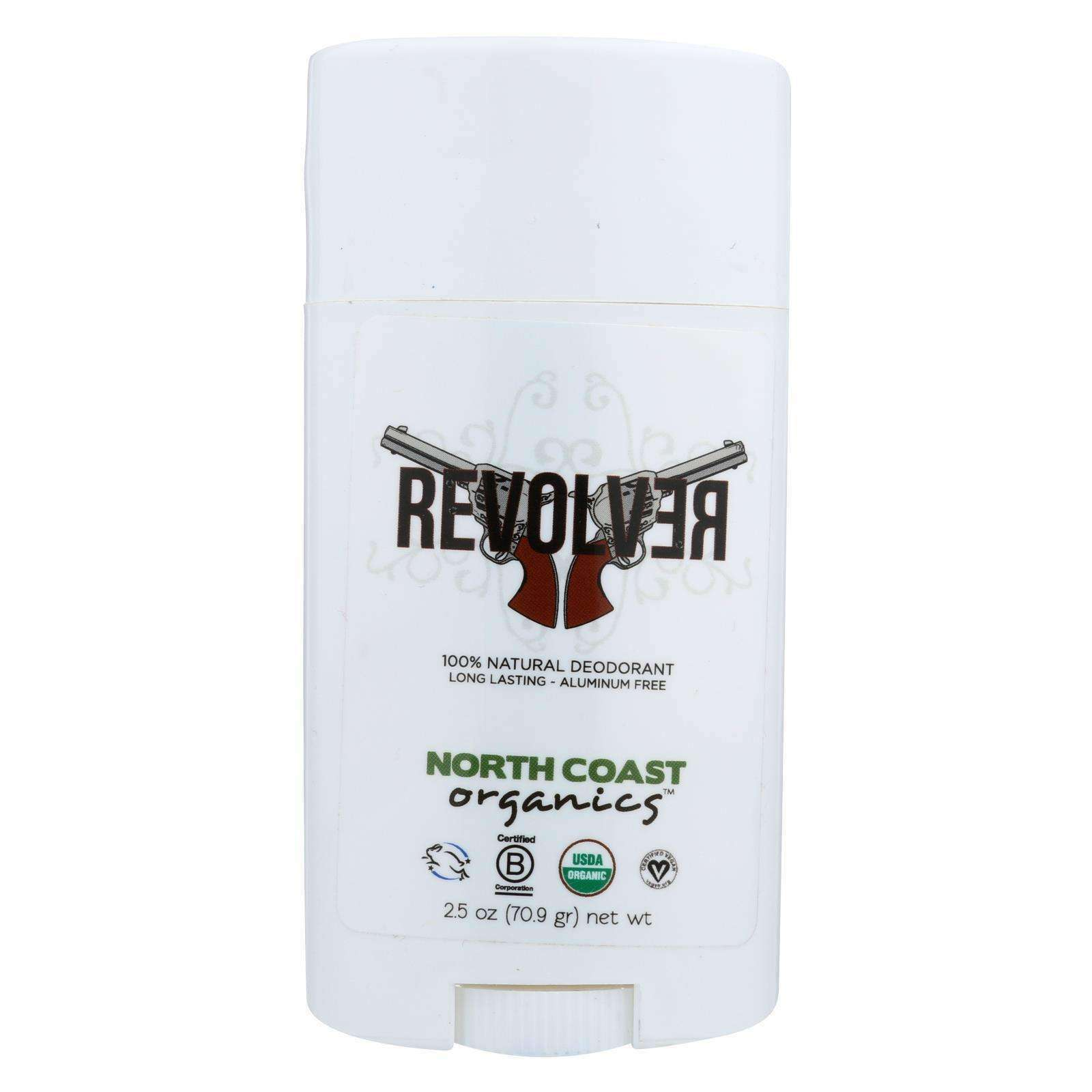 North Coast Organics Deodorant - Revolver - 1 Each - 2.5 Oz. - BeeGreen
