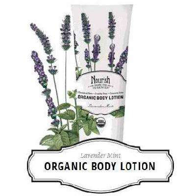 Nourish Body Lotion Lavendar Mnt (1x8OZ ) - BeeGreen
