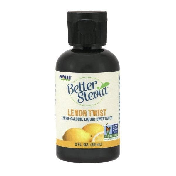 Now Foods, Better Stevia, Zero-Calorie Liquid Sweetener, Lemon Twist, 2 fl oz (59 ml) - BeeGreen