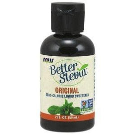 Now Foods, Better Stevia, Zero-Calorie Liquid Sweetener, Original, 2 fl oz (59 ml) - BeeGreen