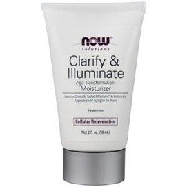 Now Foods, Clarify & Illuminate Moisturizer - 2 Fl. Oz. - BeeGreen