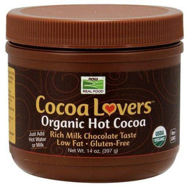 Now Foods, Cocoa Lovers™ Organic Hot Cocoa - 14 Oz. - BeeGreen