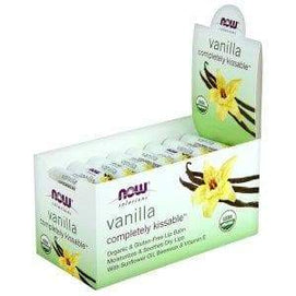 Now Foods, Completely Kissable™ Vanilla Lip Balm - 32 Pack - BeeGreen