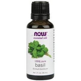 Now Foods, Essential Oils, Basil, 1 fl oz (30 ml) - BeeGreen