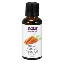 Now Foods, Essential Oils, Carrot Seed Oil, 1 fl. oz. (30 ml) - BeeGreen