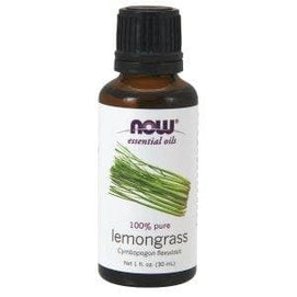 Now Foods, Essential Oils, Lemongrass, 1 fl oz (30 ml) - BeeGreen