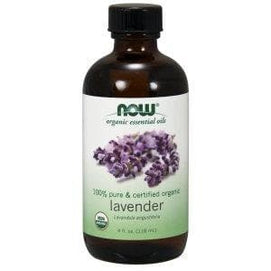 Now Foods, Lavender Oil, Certified Organic - 4 Fl. Oz. - BeeGreen