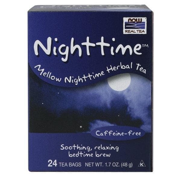 Now Foods, Nighttime™ Tea - 24 Tea Bags - BeeGreen