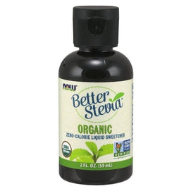 Now Foods, Organic Better Stevia, Zero-Calorie Liquid Sweetener, 2 fl oz (60 ml) - BeeGreen