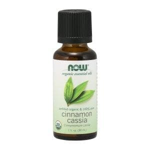 Now Foods, Organic Essential Oils, Cinnamon Cassia, 1 fl oz (30 ml) - BeeGreen