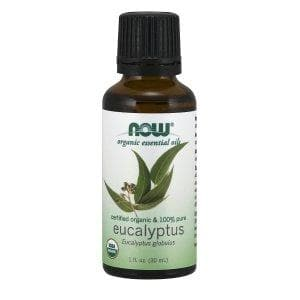 Now Foods, Organic Essential Oils, Eucalyptus, 1 fl oz (30 ml) - BeeGreen