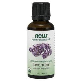 Now Foods, Organic Essential Oils, Lavender, 1 fl oz (30 ml) - BeeGreen