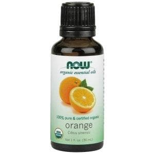 Now Foods, Organic Essential Oils, Orange, 1 fl oz (30 ml) - BeeGreen