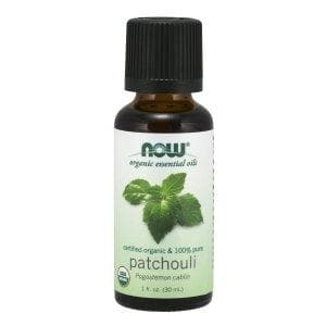 Now Foods, Organic Essential Oils, Patchouli, 1 fl oz (30 ml) - BeeGreen
