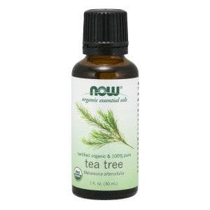 Now Foods, Organic Essential Oils, Tea Tree, 1 fl oz (30 ml) - BeeGreen