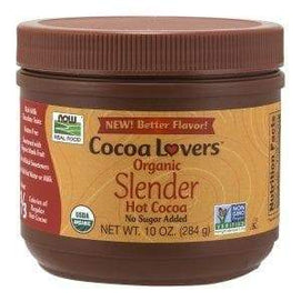 Now Foods, Slender Hot Cocoa, 10 oz (284 g) - BeeGreen