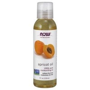 Now Foods, Solutions, Apricot Oil, 4 fl oz (118 ml) - BeeGreen