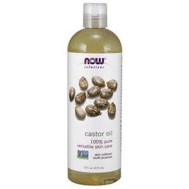 Now Foods, Solutions, Castor Oil, 16 fl oz (473 ml) - BeeGreen
