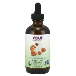 Now Foods, Solutions, Certified Organic & 100% Pure Argan Oil, 4 fl oz (118 ml) - BeeGreen
