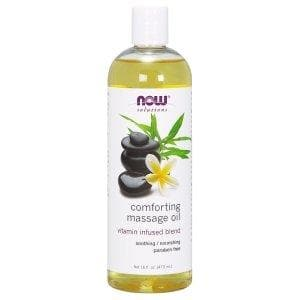 Now Foods, Solutions, Comforting Massage Oil, 16 fl oz (473 ml) - BeeGreen