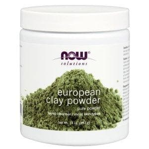 Now Foods, Solutions, European Clay Powder, 14 oz (397 g) - BeeGreen