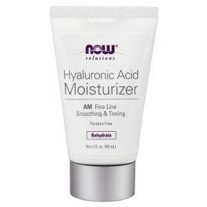 Now Foods, Solutions, Hyaluronic Acid Moisturizer, 2 fl oz (59 ml) - BeeGreen