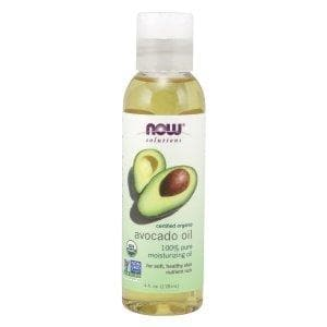 Now Foods, Solutions, Organic Avocado Oil, 4 fl oz (118 ml) - BeeGreen