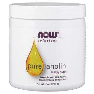 Now Foods, Solutions, Pure Lanolin, 7 oz (198 g) - BeeGreen